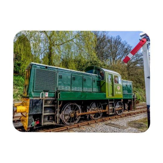 The 'D9521' Diesel Locomotive Magnet
