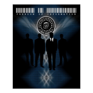 "The D.O.P. Freedom of Information Poster (16""x20"")"