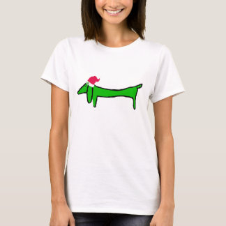 The Dachshund for Christmas T-Shirt