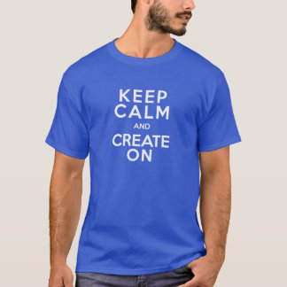 The Daily Create Summer 2014 T-Shirt on Blue