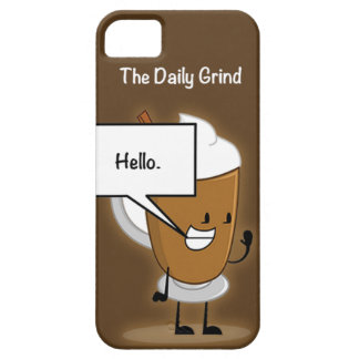 The Daily Grind iPhone 5 Covers