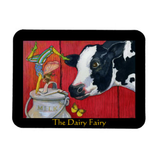 The Dairy Fairy flexible magnet