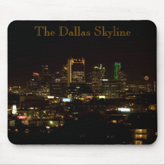 The Dallas Skyline Mousepad