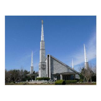 The Dallas Texas LDS Temple Postcard
