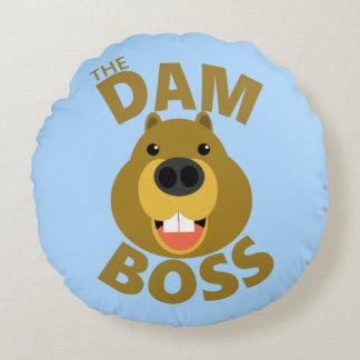The Dam Boss Round Cushion