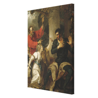 The Damsel and Orlando Canvas Print