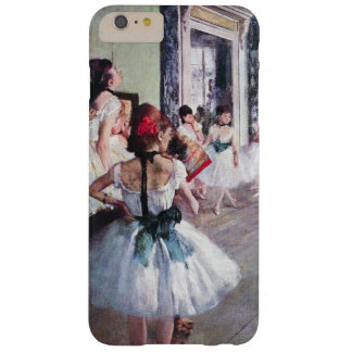 The Dance Class by Edgar Degas, Vintage Ballet Art Barely There iPhone 6 Plus Case