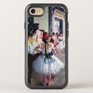 The Dance Class by Edgar Degas, Vintage Ballet Art OtterBox Symmetry iPhone 8/7 Case