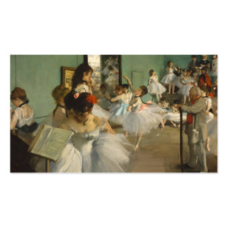The Dance Class. Edgar Degas Business Cards