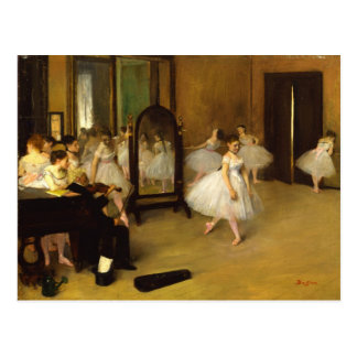 The Dance Class Postcard