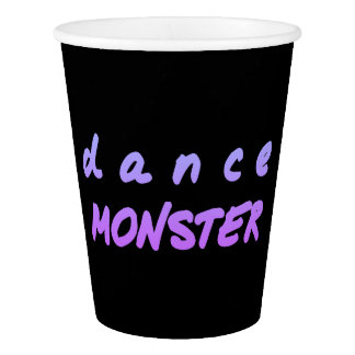 The Dance Monster Paper Cup