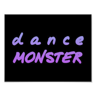 The Dance Monster Poster