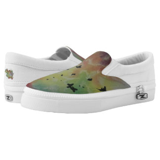 The Dance Of Butterflies Slip-On Shoes