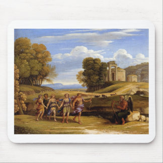 The Dance Of The Seasons by Claude Lorrain Mouse Pad