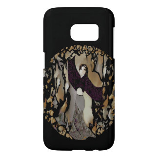 THE DANCER S7 iPhone Case -Purple/White/Black