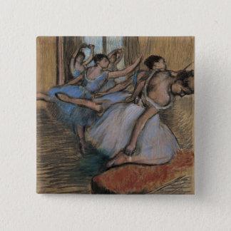 The Dancers 15 Cm Square Badge