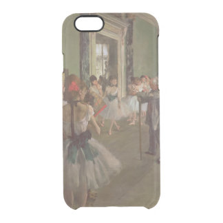 The Dancing Class, c.1873-76 Clear iPhone 6/6S Case