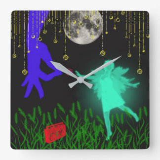The Dancing Fairy Wall Clock by Julie Everhart