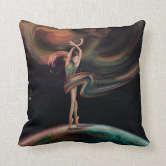 The dancing universe cushion