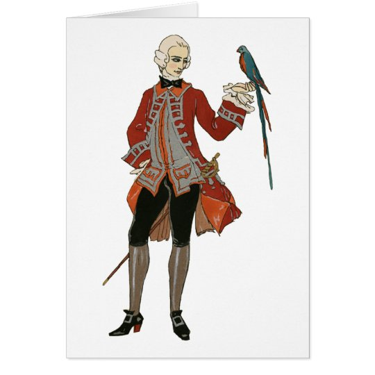 The Dandy And The Bird Card