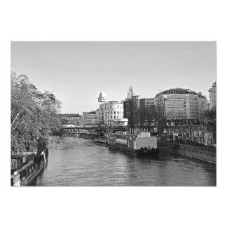 The Danube Canal Photo Print