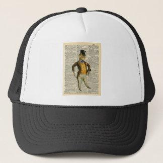 The dapper cat cap