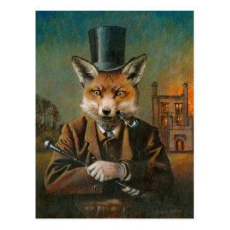 The Dapper Fox Post Card