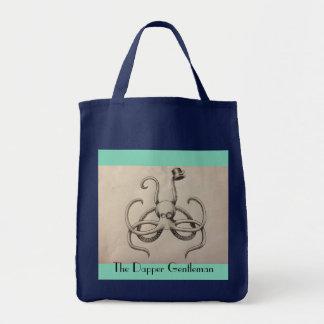 The Dapper Gentleman Grocery Tote