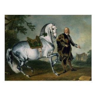 The Dappled Horse 'Scarramuie' en Piaffe Postcard