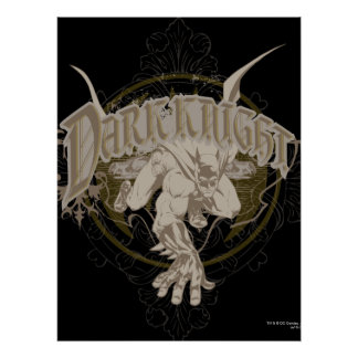 The Dark Knight Print