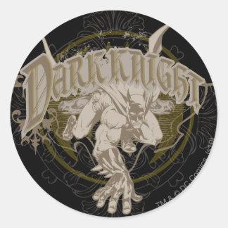 The Dark Knight Round Sticker
