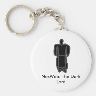 The Dark Lord Basic Round Button Key Ring