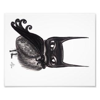 The Dark Night Owl Photo Print