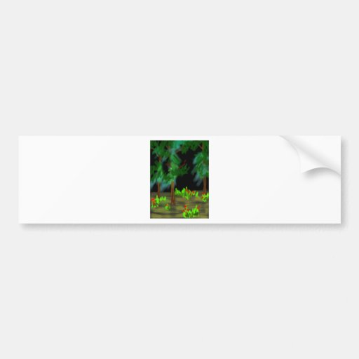 the dark woods bumper sticker