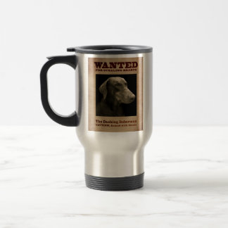The Dashing Doberman Travel Mug
