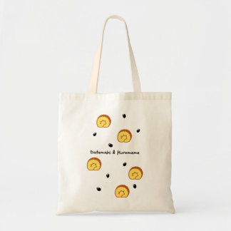 < The Date winding and black bean > Datemaki & Budget Tote Bag
