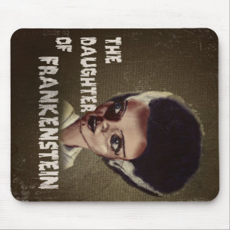 THE DAUGHTER OF FRANKENSTEIN MOUSE PAD