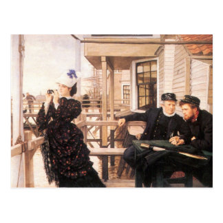The daughter of the master by James Tissot Postcard