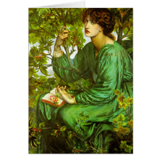The Day Dream by Dante Gabriel Rossetti Card