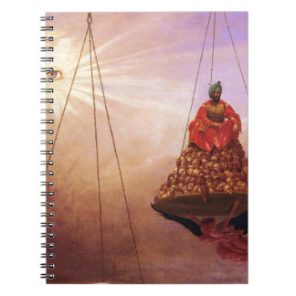 The Day of Judgement by Jean-Leon Gerome Notebook