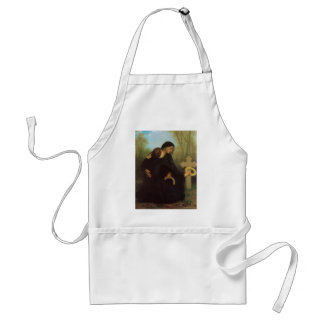 The Day of the Dead by William Adolphe Bouguereau Apron