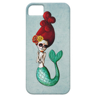 The Day of The Dead Mermaid Catrina iPhone 5 Cases