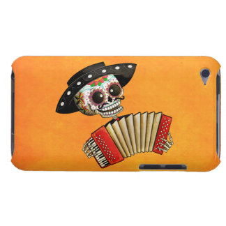 The Day of The Dead Skeleton El Mariachi iPod Case-Mate Cases