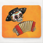 The Day of The Dead Skeleton El Mariachi Mouse Pad