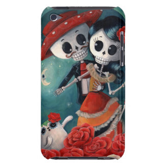 The Day of The Dead Skeleton Lovers Barely There iPod Covers