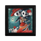 The Day of The Dead Skeleton Lovers Gift Box