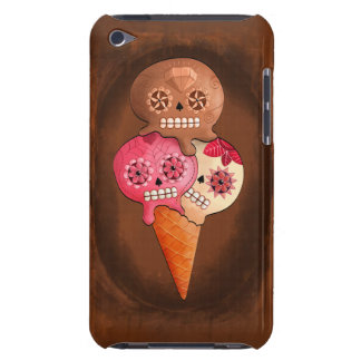 The Day of The Dead Sugar Skulls Ice Cream Barely There iPod Cases