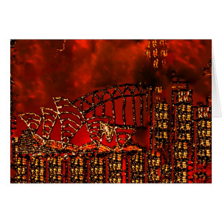 """""""The Day of the Red Sky"""" Birthday Card"""