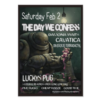 The Day We Confess 2-2-08 Poster