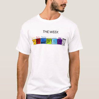 The Days of the Week T-Shirt